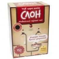 """Чай KZ """"СЛОН"""" чёрный индийский гранулированный, без добавок 250 г"""