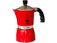 "Гейзерная кофеварка Bialetti ""Fiammetta"" красная на 3 чашки"