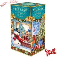 """Чай WILLIAMS """"Amazing forest"""" """"Удивительный лес"""" Новогодний ст.OPA крупнолистовой ароматизирован натуральными кусочками земляники"""