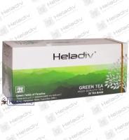 "Чай Heladiv ""GREEN TEA"" зеленый без добавок 25 пакетов x 2 г"