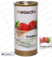 """Чай Heladiv """"Black Tea Strawberry Сream"""" """"Клубника со сливками"""" чёрный Цейлонский (туба) 100 г"""