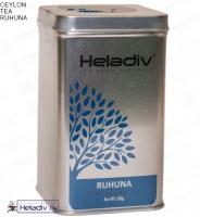 """Чай Heladiv """"RUHUNA"""" плантация Рухуна, элитный Цейлонский в жестяной банке 100 г"""
