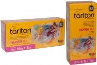 """Чай TARLTON """"HEAVEN"""" """"Небесный чай"""" чёрный цейлонский пакетированный 25 пакетов 2 г"""