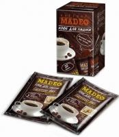 """Кофе MADEO """"Espresso Bar"""" молотый для заваривания в чашке в индивидуальных пакетиках (10 шт.×10 г) 100 г"""
