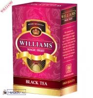"""Чай WILLIAMS """"Magic Fruit"""" чёрный Цейлонский с фруктом сау-сепа и сафлора 100 г"""