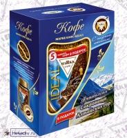 Подарочный набор MARKK Кофе Идеал 200г и фитобальзам Сокровища Алтайских гор