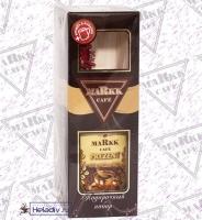 """Подарочный набор Markk """"Cafe Present"""" Кофе растворимый ПРЕЗЕНТ 95 г. + кружка в подарок"""