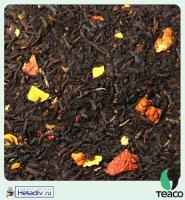 """Чай TEA-CO """"Миндальный пирог"""" черный Цейлонский с изюмом, яблоком и миндальным орехом"""