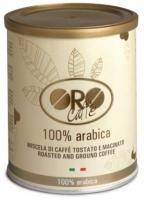 Кофе ORO Caffe Arabica 100% (в жестяной банке) молотый 250 г