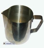 Питчер металлический, нержавеющая сталь (молочник) 350 мл.