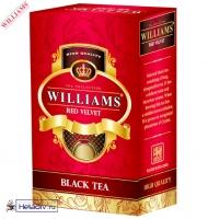 """Чай WILLIAMS """"Red Velvet"""" """"Красный бархат"""" черный Цейлонский O.P. с типсами, без добавок 100 г"""
