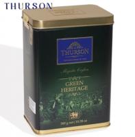 """Чай THURSON """"GREEN HERITAGE Magestic Ceylon"""" """"Зелёное Наследие"""" зелёный высшей категории в ж/б 300 г"""