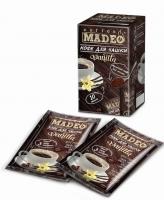 """Кофе MADEO """"Vanilla"""" """"Ваниль"""" молотый для заваривания в чашке в индивидуальных пакетиках (10 шт.×10 г) 100 г"""