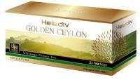 """Чай Heladiv """"GOLDEN CEYLON Vintage Green"""" зеленый в пакетиках 25 пакетов по 2 г"""