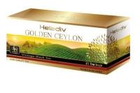 """Чай Heladiv """"GOLDEN CEYLON Vintage Black"""" черный Цейлонский в пакетиках 25 пакетов x 2 г"""